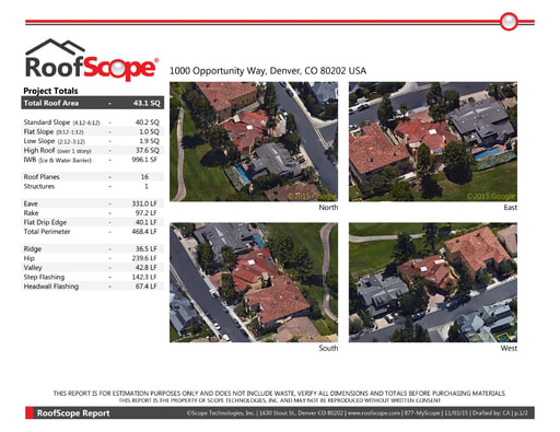 RoofScope Sample Report