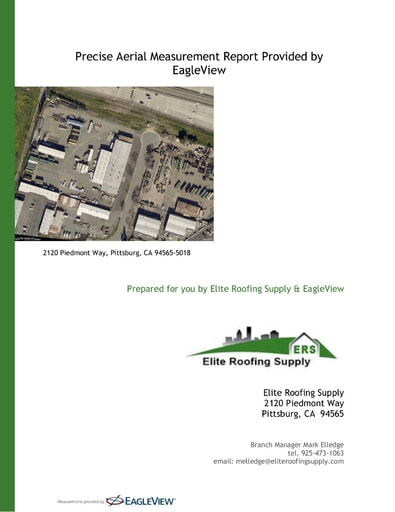 Premium Commercial Eagleview Report — Pittsburg, CA